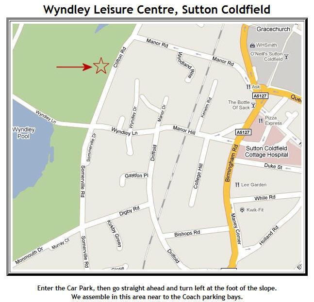 Wyndley car park